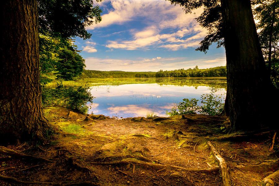 Landscape Photograph - A Secret Place by Bob Orsillo
