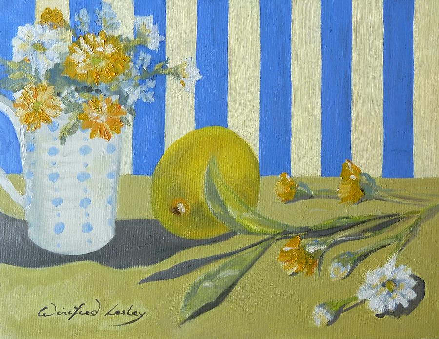 Painting - A Sense Its Summer by Winifred Lesley