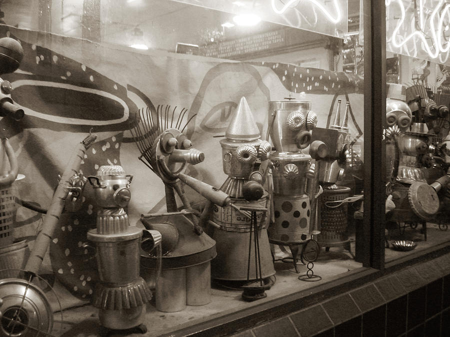 A Shop Window At Berkeley Photograph