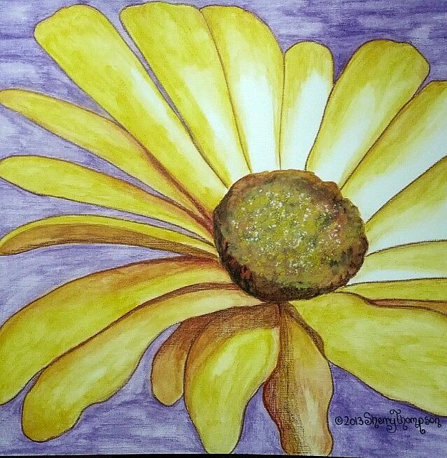 A Simple Flower Painting