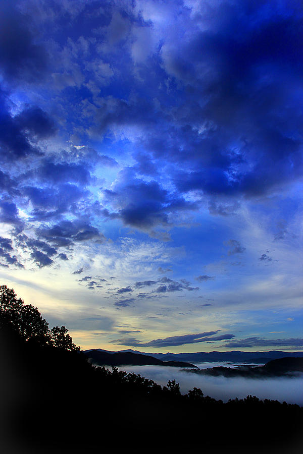 Smoky Mountains Photograph - A Smoky Mountain Dawn by Michael Eingle