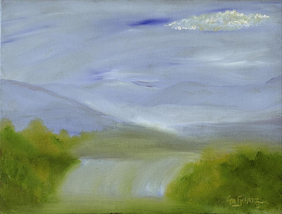 Water Painting - A Soft Day by Leo Gehrtz