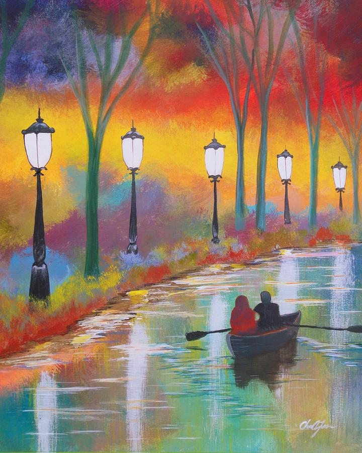 A Special Evening Painting  - A Special Evening Fine Art Print
