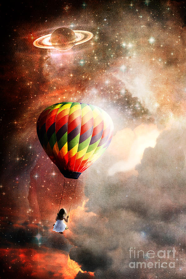Cosmic Photograph - A Starry Ride by Stephanie Frey