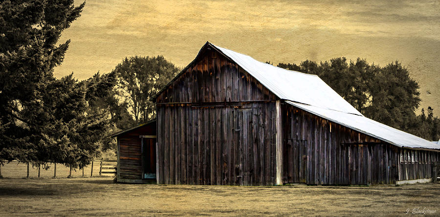 Barn Photograph - A Step Out Of Time by Jordan Blackstone
