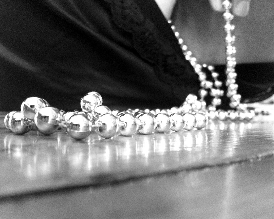 A String Of Pearls Photograph  - A String Of Pearls Fine Art Print