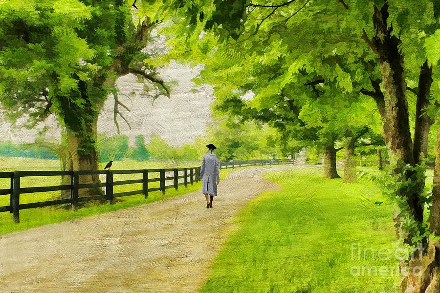 A Stroll Along The Bluegrass Photograph