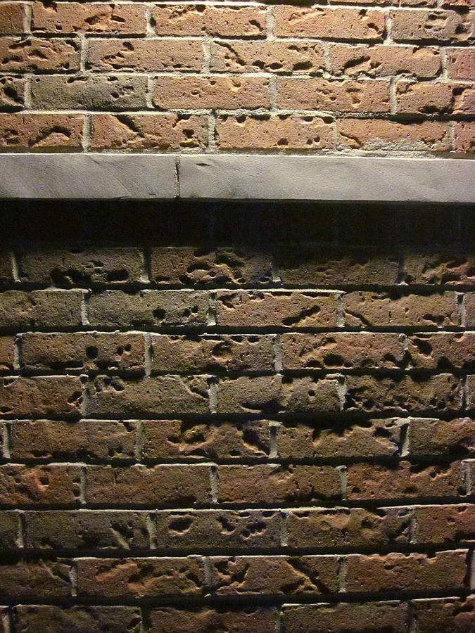 A Study In Brick Photograph  - A Study In Brick Fine Art Print