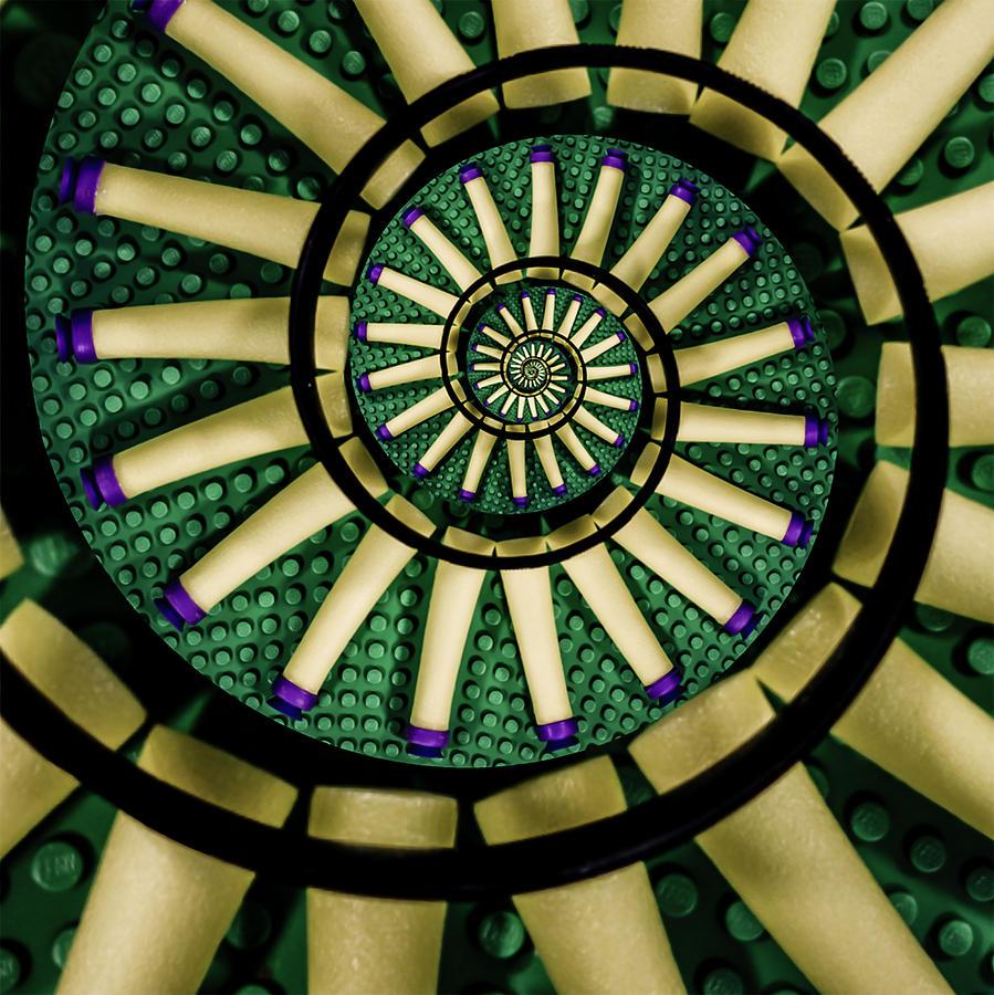 A Swirl Of Legonerf Digital Art