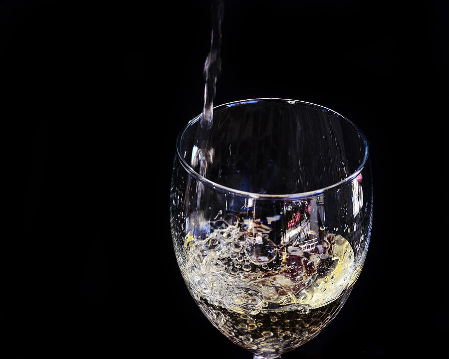 A Taste Of The Bubbly Photograph