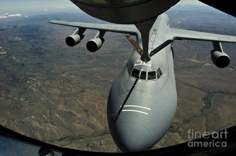 A U.s. Air Force Kc-135r Stratotanker Photograph  - A U.s. Air Force Kc-135r Stratotanker Fine Art Print