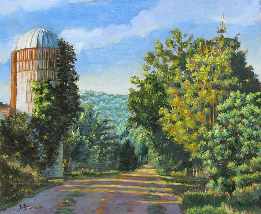 A Walk In Vermont Painting