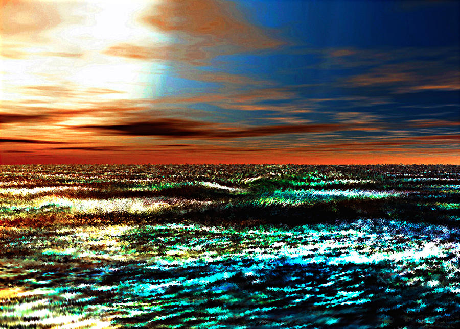 A Warm And Gentle Sunrise Digital Art