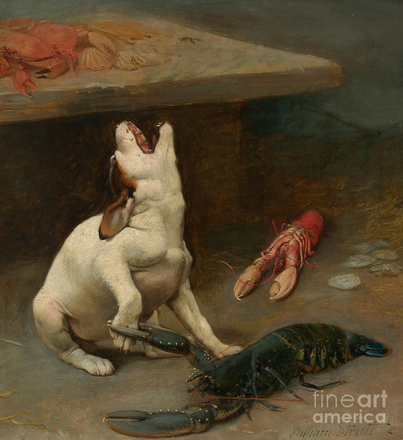 William Strutt Painting - A Warm Response by William Strutt