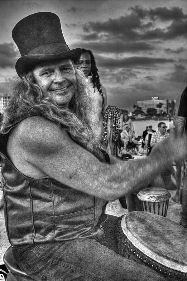 A Wavy Gravy Kind Of Guy Photograph