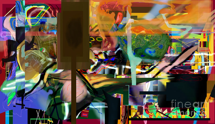Torah Digital Art - A Way To Bring The World To Tsheuvah 10 by David Baruch Wolk
