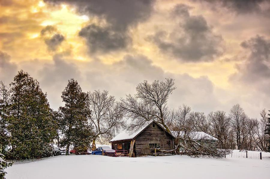 A Winter Sky Photograph  - A Winter Sky Fine Art Print
