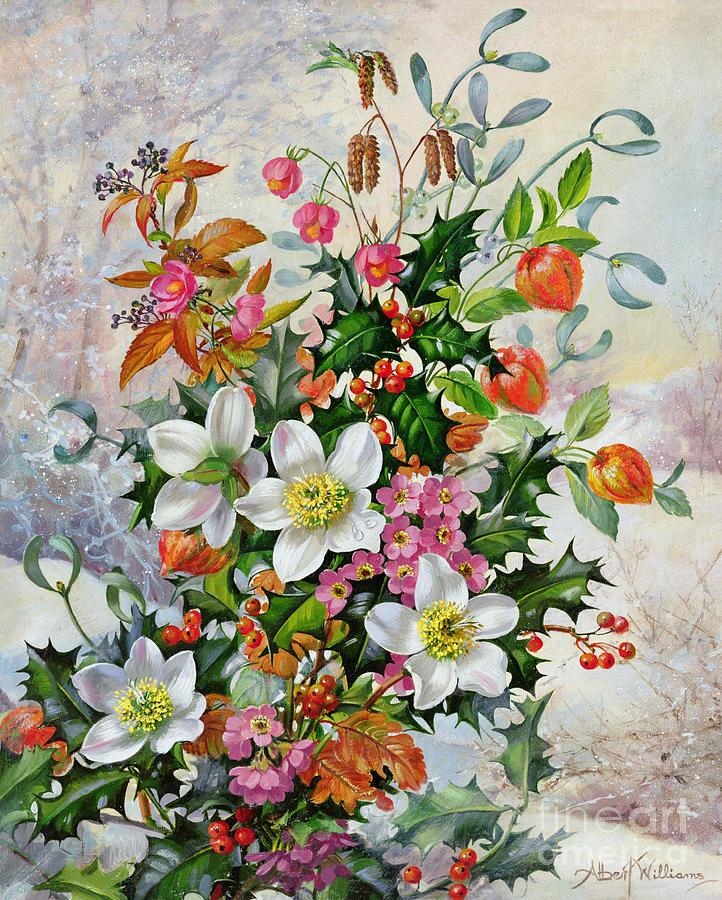 A Winter Wonderland Painting by Albert Williams