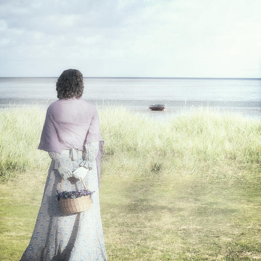 A Woman And The Sea Photograph