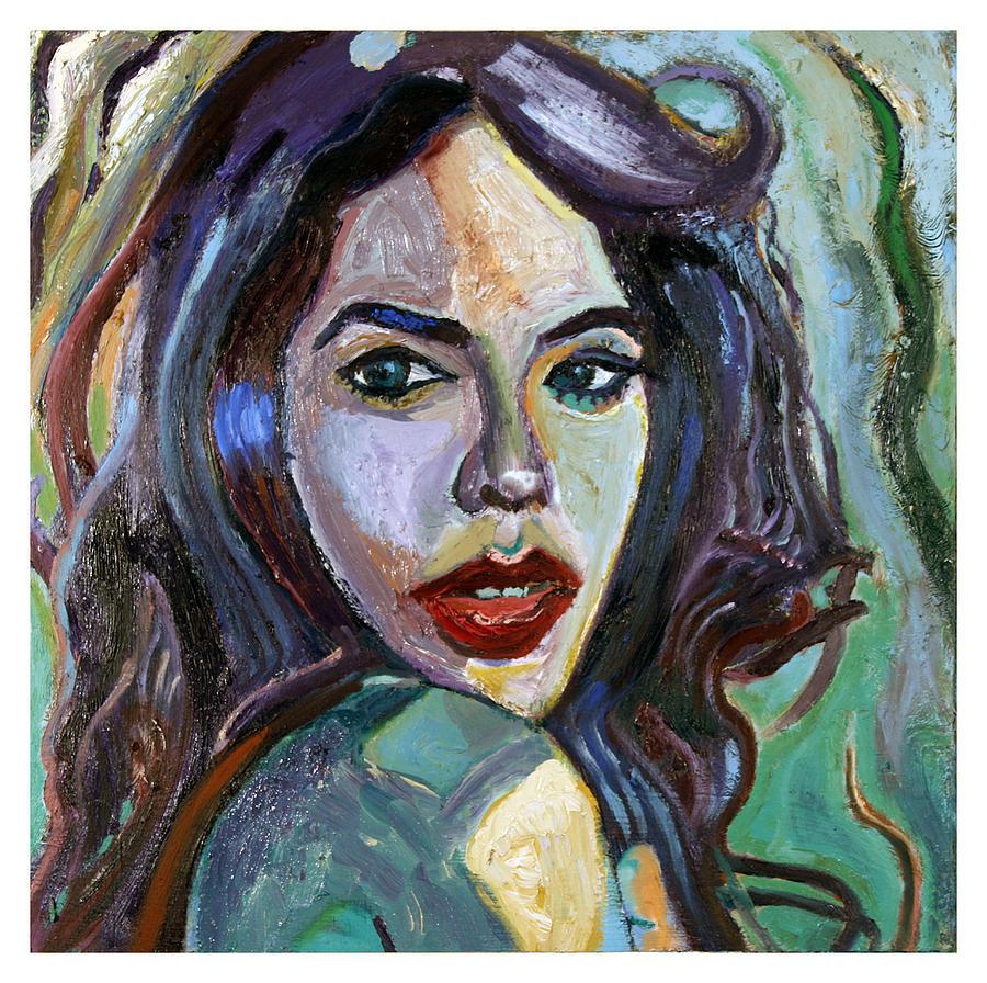 Aaliyah Painting