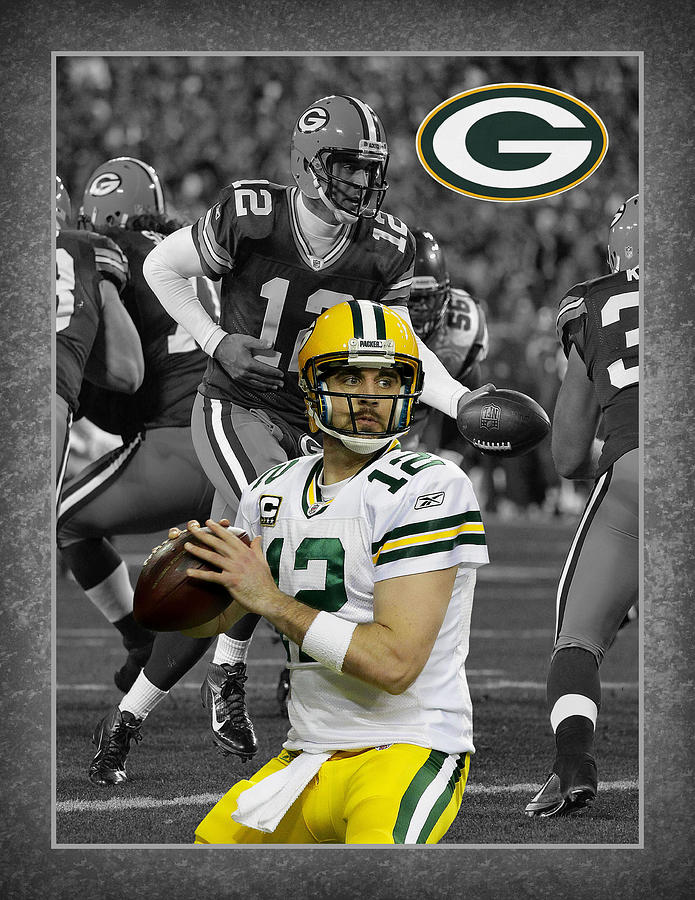 Aaron Rodgers Packers Photograph