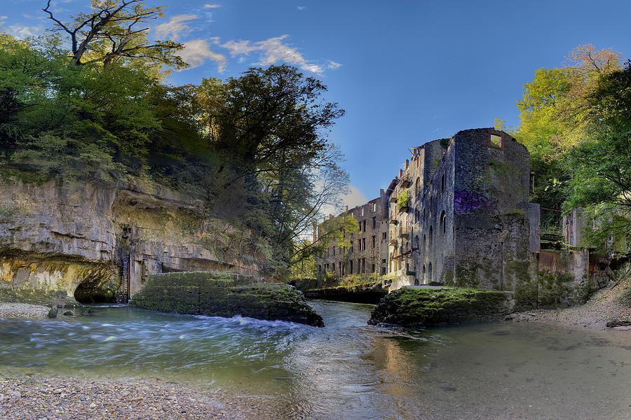 Abandoned Plant Along Valserine River Photograph