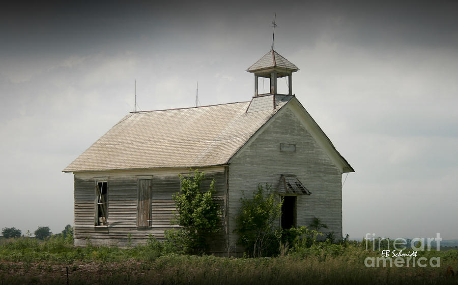 Abandoned Schoolhouse Photograph  - Abandoned Schoolhouse Fine Art Print