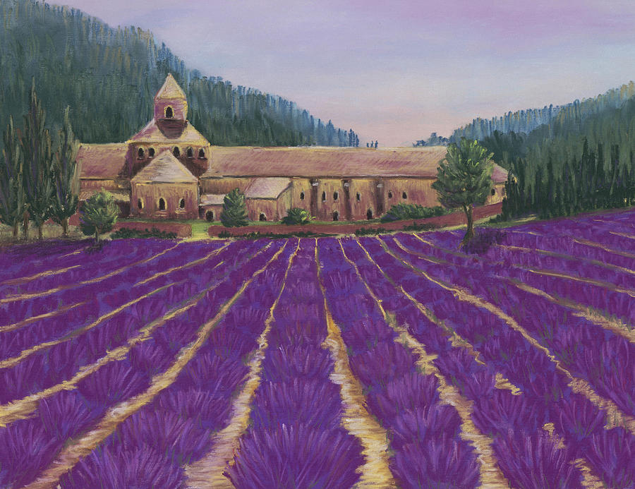 Abbaye Notre-dame De Senanque Painting