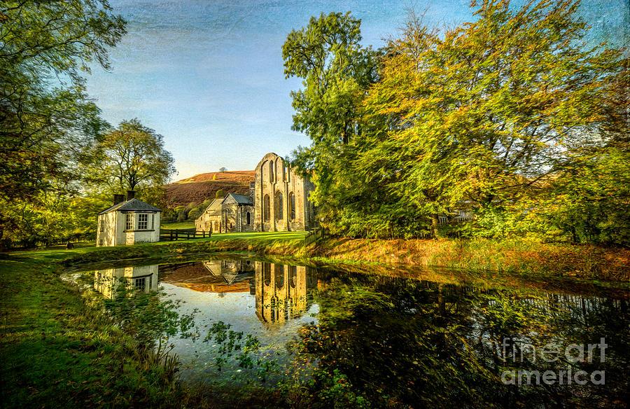 Abbey Lake Autumn Photograph