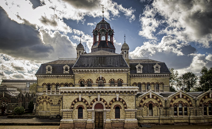 Abbey Mills Pumping Station Photograph By Heather Applegate