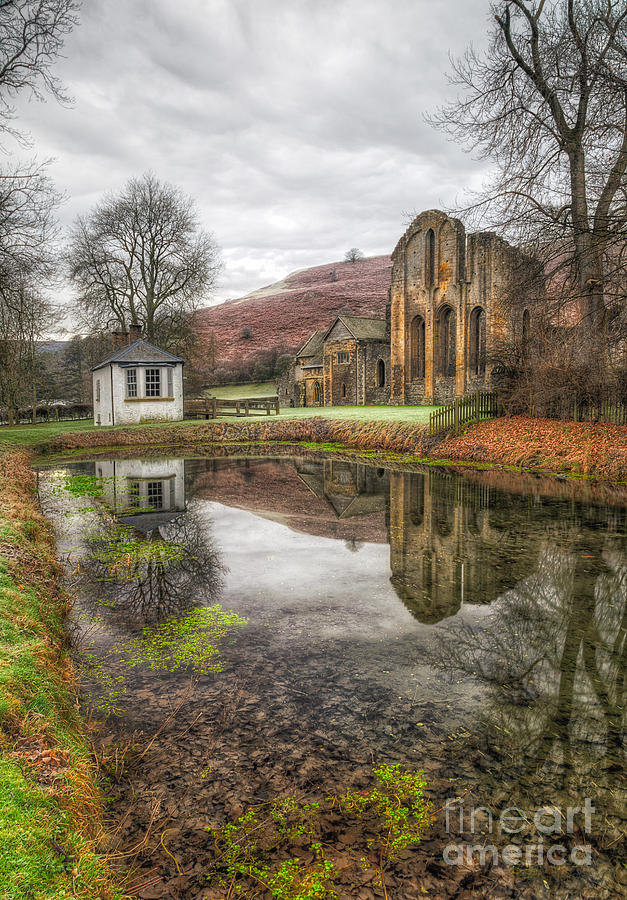 Abbey Reflection Photograph