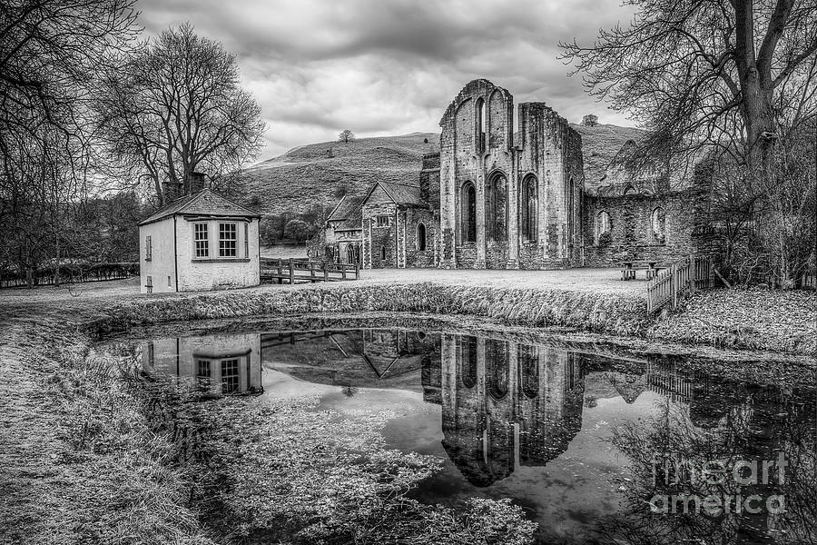 Abbey Reflections Photograph