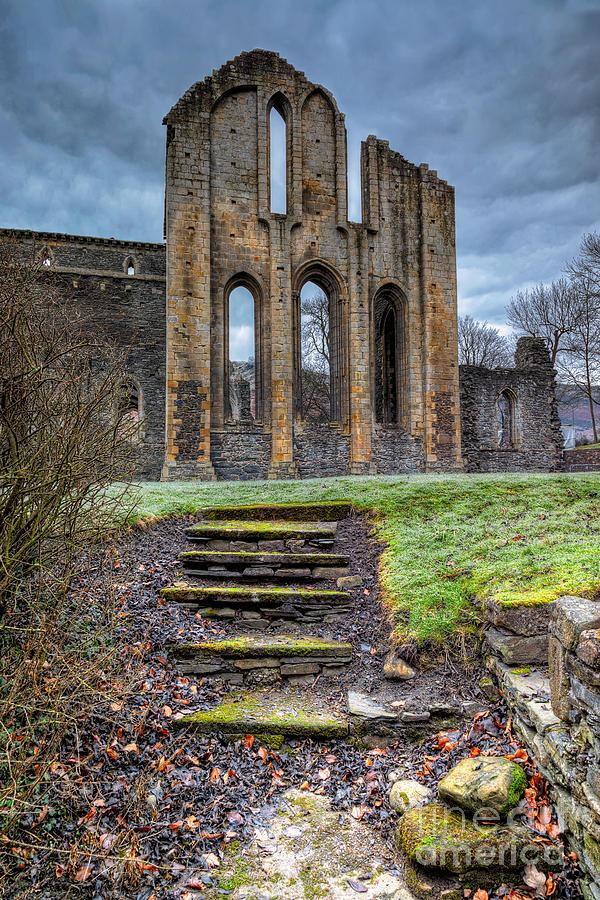 Abbey Steps Photograph