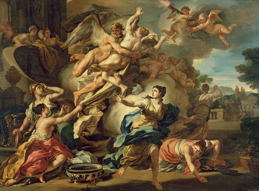 Abduction Of Orithyia Painting