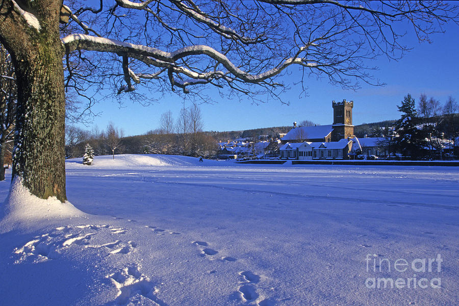 Aberlour Winter Photograph  - Aberlour Winter Fine Art Print