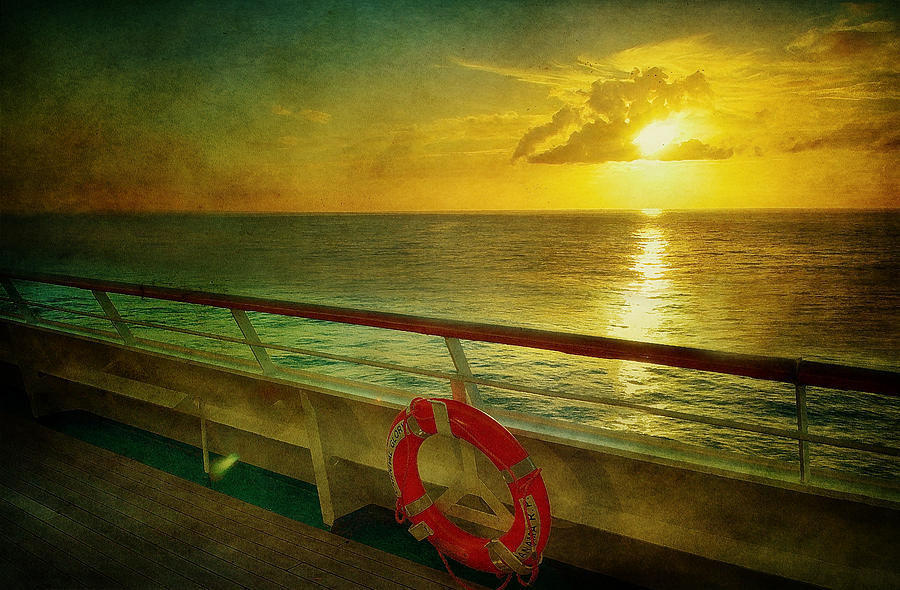 Aboard The Ship Photograph  - Aboard The Ship Fine Art Print