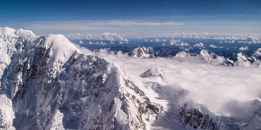 Above Denali Photograph