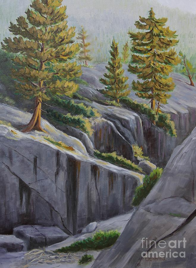 Above The Gorge Painting
