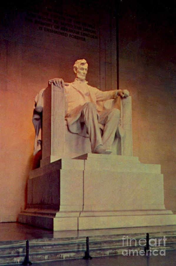 Abraham Lincoln Memorial Statue Photograph