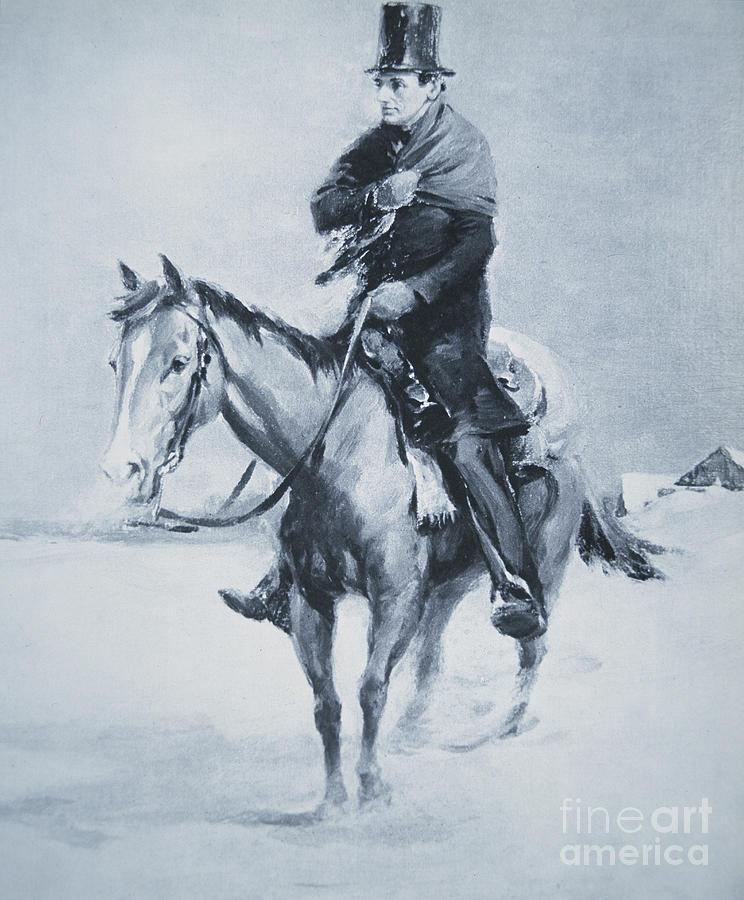 abraham lincoln riding a - photo #7