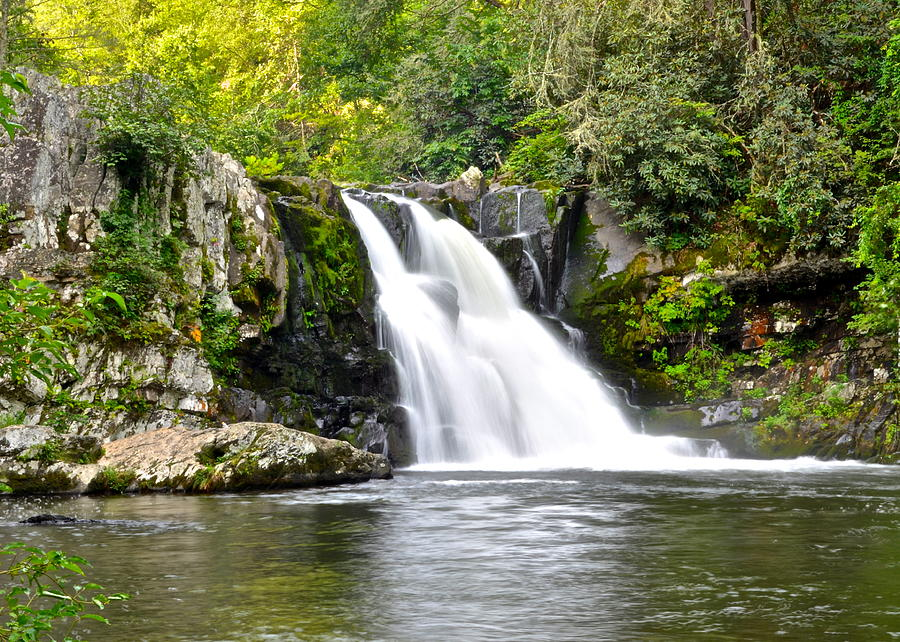 Abrams Photograph - Abrams Falls by Frozen in Time Fine Art Photography