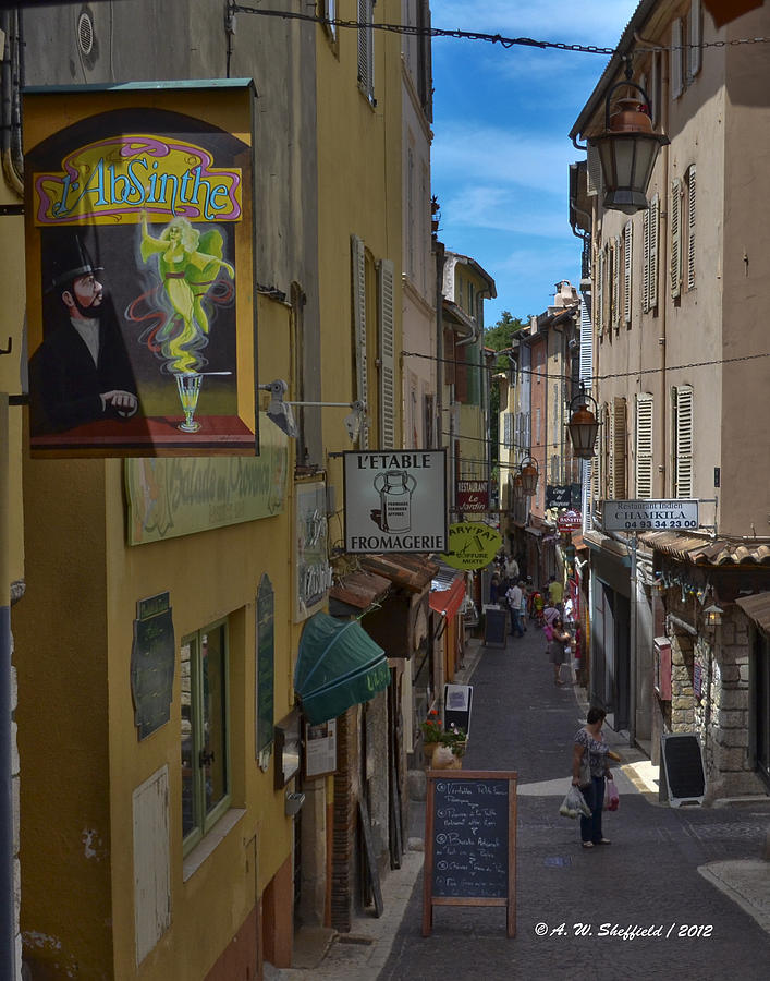 Absinthe In Antibes Photograph