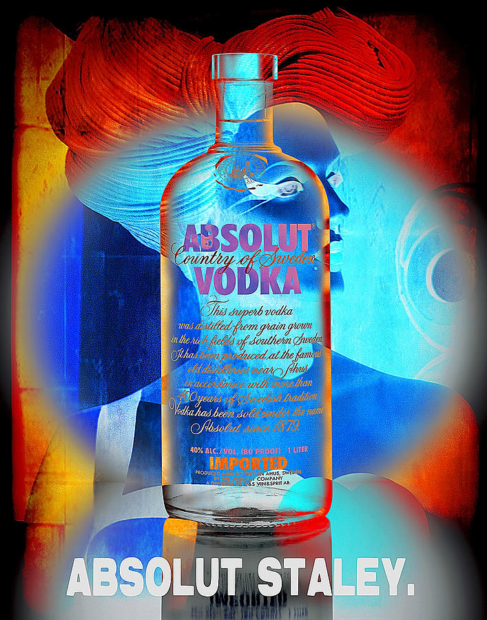 Absolut Psychedelic Photograph