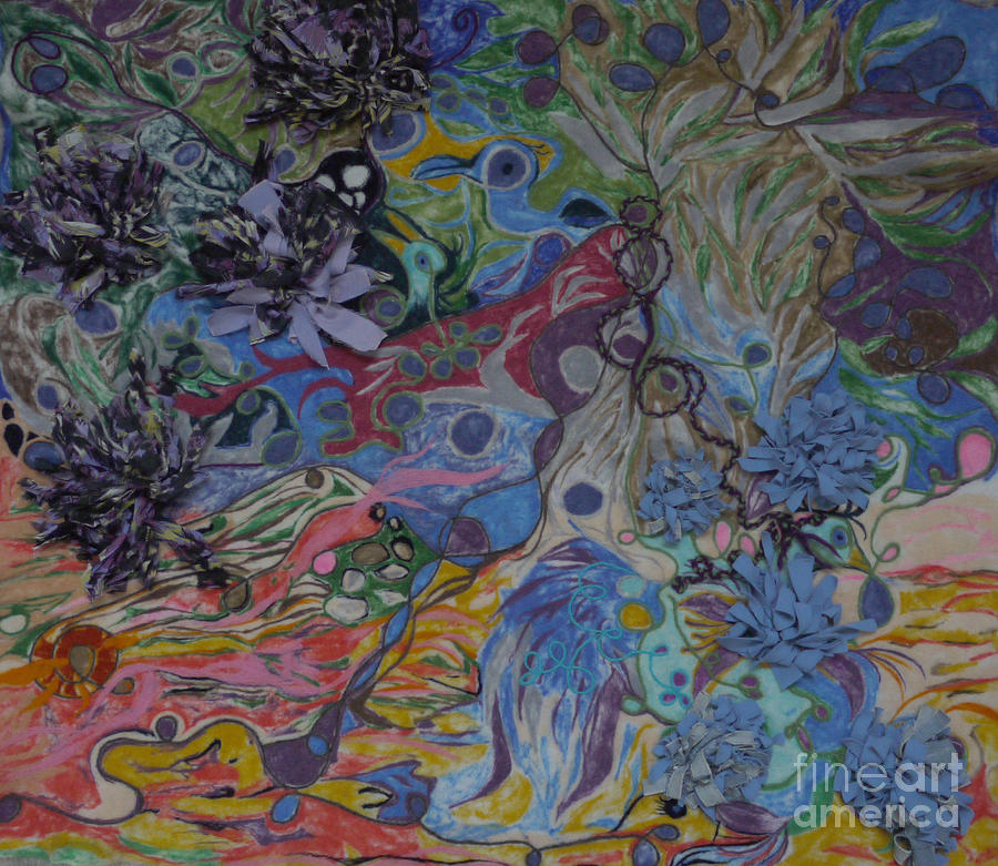 Abstract Painting - Abstinence by Heather Hennick
