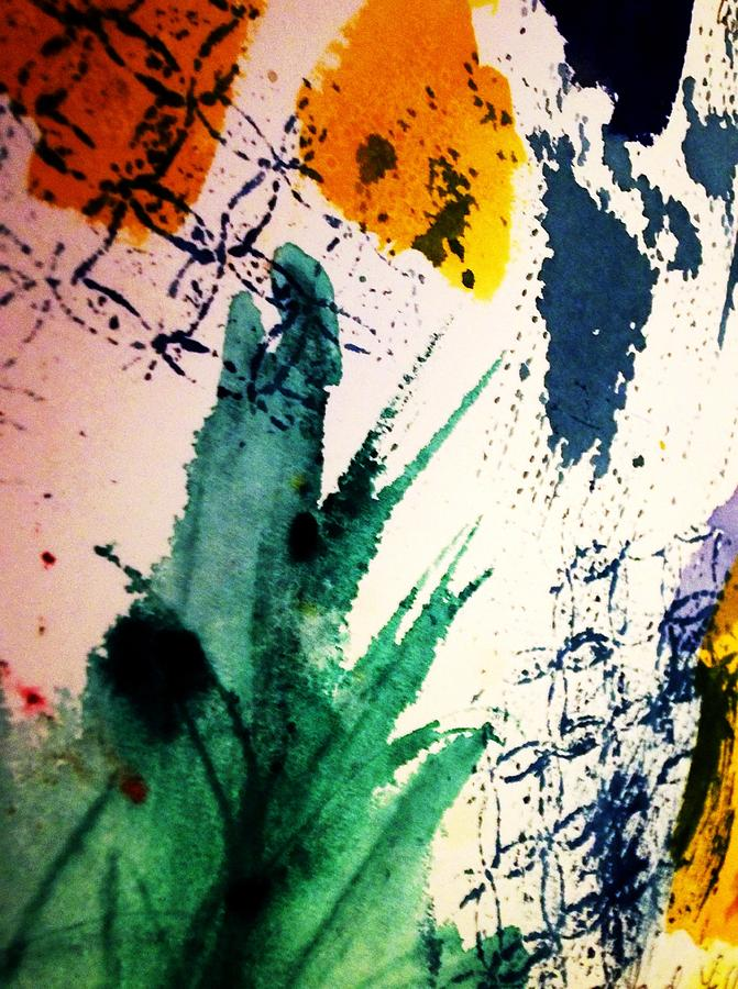 Abstract - Splashes Of Color Painting