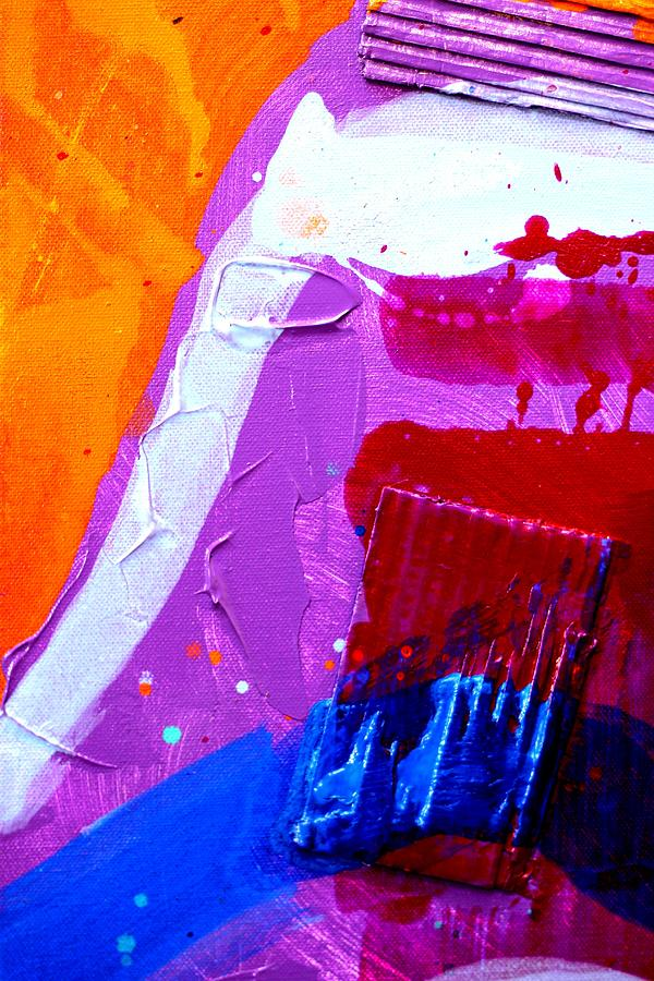 Abstract Painting - Abstract  19614 Cropped Vi by John  Nolan