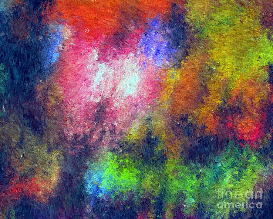 Abstract Digital Art - Abstract 296 by John Krakora