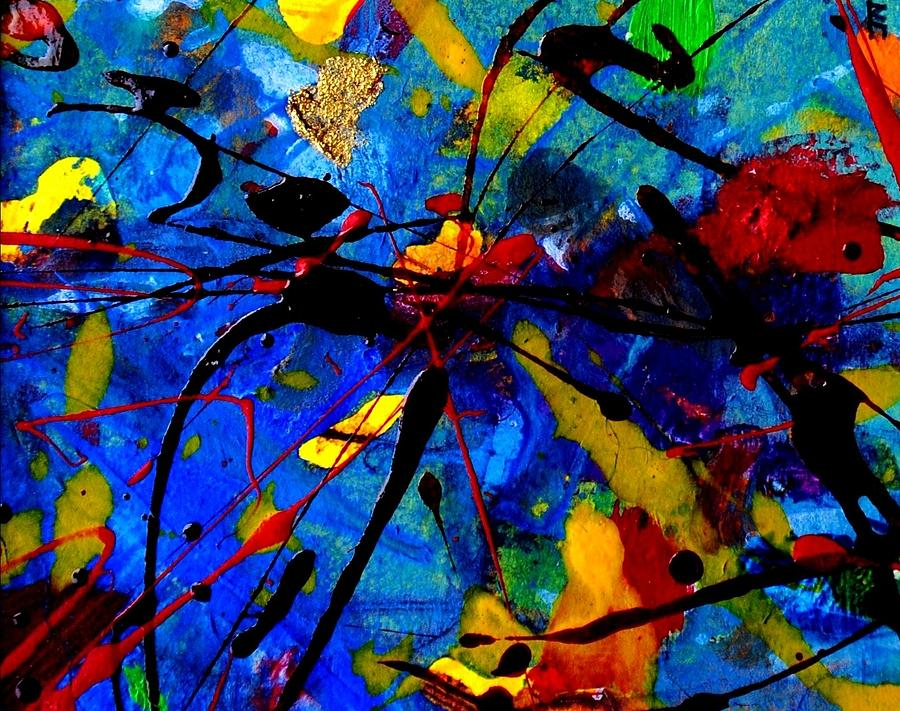 Abstract 39 Mixed Media  - Abstract 39 Fine Art Print