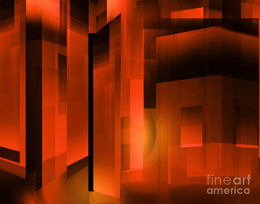 Abstract 500 Digital Art  - Abstract 500 Fine Art Print