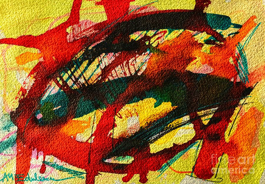 Abstract Painting - Abstract 73 by Ana Maria Edulescu